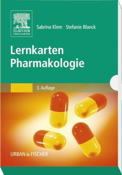Lernkarten Pharmakologie von Klem-Radinger,  Sabrina, Weber,  Stefanie