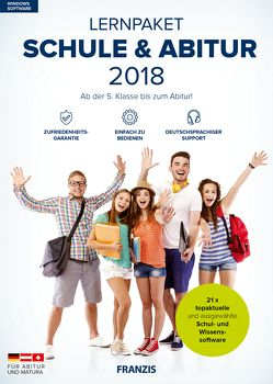 Lernpaket Schule & Abitur 2018 von Franzis,  Franzis