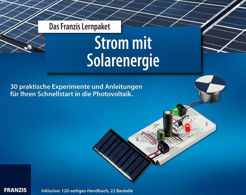 Lernpaket Strom mit Solarenergie von Stempel, Ulrich E.: