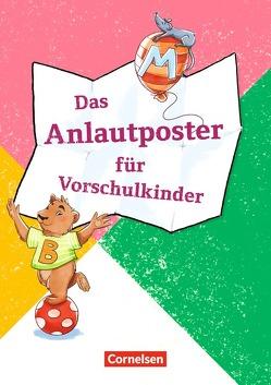 Lernposter für die Vorschule / Das Anlautposter für Vorschulkinder