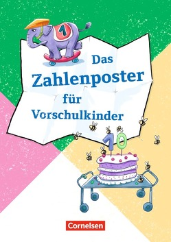 Lernposter für die Vorschule / Das Zahlenposter für Vorschulkinder