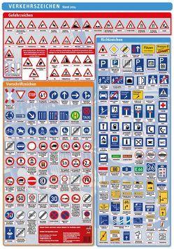 Lernposter Verkehrszeichen von Radler,  Werner