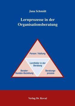 Lernprozesse in der Organisationsberatung von Schmidt,  Jana