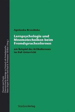 Lernpsychologie und Mnemotechniken beim Fremdsprachenlernen von Brzezińska,  Agnieszka
