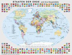 Lernpuzzle Staaten der Erde von Stiefel,  Heinrich