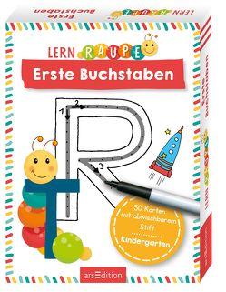Lernraupe – Erste Buchstaben von Wiesner,  Angela