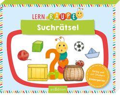 Lernraupe – Suchrätsel von Wiesner,  Angela