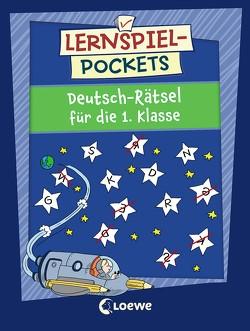 Lernspiel-Pockets – Deutsch-Rätsel für die 1. Klasse von Beurenmeister,  Corina, Honnen,  Falko