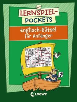 Lernspiel-Pockets – Englisch-Rätsel für Anfänger von Beurenmeister,  Corina, Honnen,  Falko