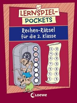 Lernspiel-Pockets – Rechen-Rätsel für die 2. Klasse von Honnen,  Falko