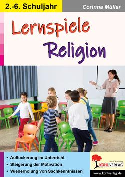 Lernspiele Religion von Müller,  Corinna