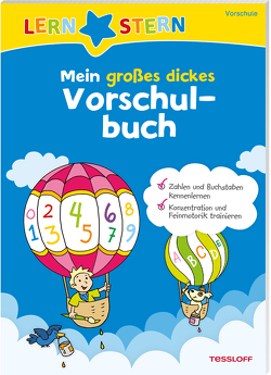 Lernstern. Mein großes dickes Vorschulbuch von Dilg,  Sonia, Meierjürgen,  Sonja