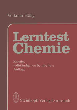 Lerntest Chemie von Hölig,  V.