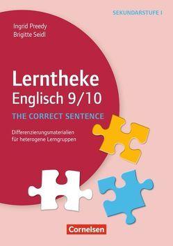 Lerntheke – Englisch / The correct sentence: 9/10 von Preedy,  Ingrid, Seidl,  Brigitte