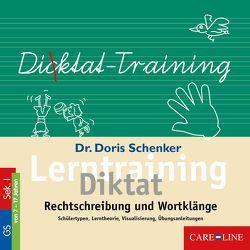 Lerntraining Diktat von Schenker,  Dr. Doris