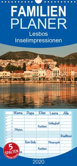 Lesbos – Inselimpressionen – Familienplaner hoch (Wandkalender 2020 , 21 cm x 45 cm, hoch) von Rusch,  Winfried