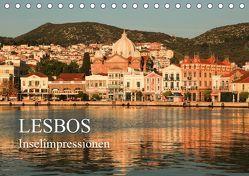 Lesbos – Inselimpressionen (Tischkalender 2019 DIN A5 quer) von Rusch,  Winfried