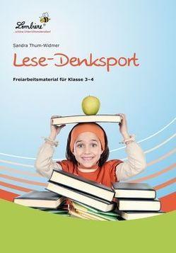 Lese-Denksport von Thum-Widmer,  Sandra