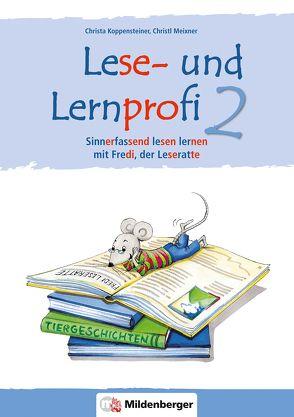 Lese- und Lernprofi 2 – Schülerarbeitsheft – silbierte Ausgabe von Koppensteiner,  Christa, Lottermoser,  Elisabeth, Meixner,  Christl
