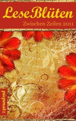 LeseBlüten Band 5 – Zwischen Zeilen 2011 von Israel,  Ariane, piepmatz Verlag