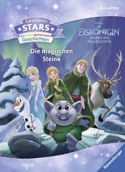Leselernstars Wir lesen gemeinsam Geschichten Die Eiskönigin Zauber der Polarlichter: Die magischen Steine von The Walt Disney Company, THiLO