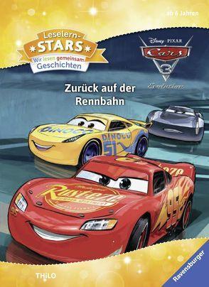 Leselernstars Wir lesen gemeinsam Geschichten: Cars 3 Zurück auf der Rennbahn von The Walt Disney Company, THiLO