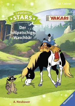 Leselernstars Yakari: Der tollpatschige Waschbär von EL Euro Lizenzen, Neubauer,  Annette
