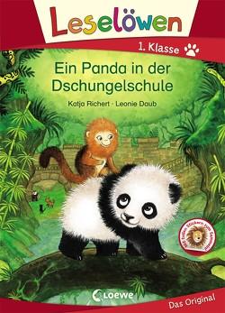 Leselöwen 1. Klasse – Ein Panda in der Dschungelschule von Daub,  Leonie, Richert,  Katja