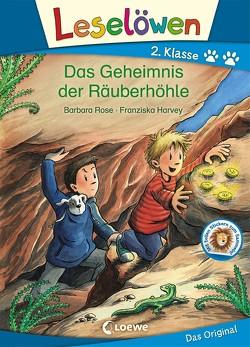 Leselöwen 2. Klasse – Das Geheimnis der Räuberhöhle von Harvey,  Franziska, Wiechmann,  Heike