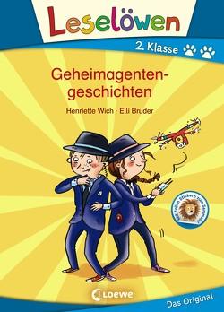Leselöwen 2. Klasse – Geheimagentengeschichten von Bruder,  Elli, Wich,  Henriette