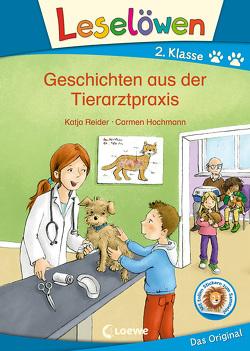 Leselöwen 2. Klasse – Geschichten aus der Tierarztpraxis von Hochmann,  Carmen, Reider,  Katja