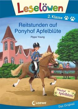 Leselöwen 2. Klasse – Reitstunden auf Ponyhof Apfelblüte von Althaus,  Lisa, Margineanu,  Sandra, Young,  Pippa