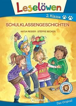 Leselöwen 2. Klasse – Schulklassengeschichten von Becker,  Stéffie, Reider,  Katja