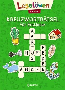 Leselöwen Kreuzworträtsel für Erstleser. 1. Klasse (Grün) von Labuch,  Kristin