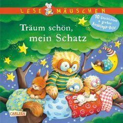 Lesemäuschen: Schlaf schön, kleiner Schatz von Moser,  Annette, Wissmann,  Maria