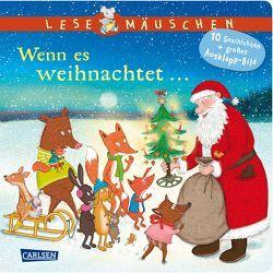 Lesemäuschen: Wenn es weihnachtet … von Bock,  Billy, Moser,  Annette