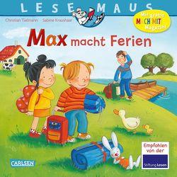 LESEMAUS 113: Max macht Ferien von Kraushaar,  Sabine, Tielmann,  Christian