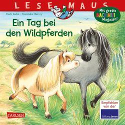 LESEMAUS 147: Ein Tag bei den Wildpferden von Harvey,  Franziska, Luhn,  Usch