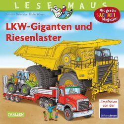 LESEMAUS 159: LKW-Giganten und Riesenlaster von Böwer,  Niklas, Tielmann,  Christian