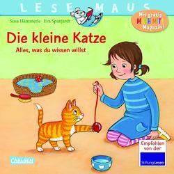 LESEMAUS 175: Die kleine Katze – alles, was du wissen willst von Hämmerle,  Susa, Spanjardt,  Eva