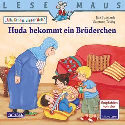 LESEMAUS 191: Huda bekommt ein Brüderchen von Halberstam,  Myriam, Spanjardt,  Eva, Taufiq,  Suleman