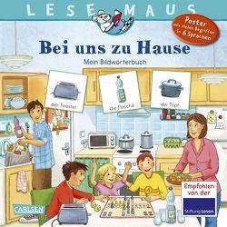 LESEMAUS 203: Bei uns zu Hause von Kleicke,  Christine, Neubauer,  Annette