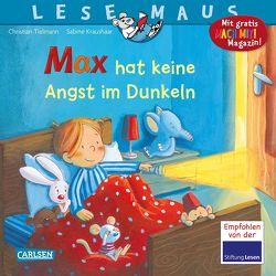 LESEMAUS 5: Max hat keine Angst im Dunkeln von Kraushaar,  Sabine, Tielmann,  Christian