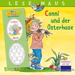 LESEMAUS 77: Conni und der Osterhase von Schneider,  Liane, Wenzel-Bürger,  Eva