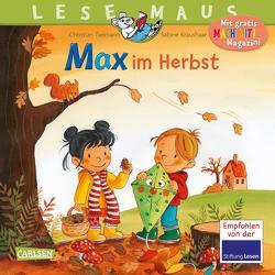 LESEMAUS 96: Max im Herbst von Kraushaar,  Sabine, Tielmann,  Christian