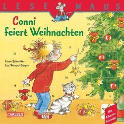 LESEMAUS, Band 58: Conni feiert Weihnachten von Schneider,  Liane, Wenzel-Bürger,  Eva