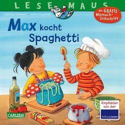 LESEMAUS 62: Max kocht Spaghetti von Kraushaar,  Sabine, Tielmann,  Christian