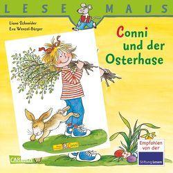 LESEMAUS, Band 77: Conni und der Osterhase von Schneider,  Liane, Wenzel-Bürger,  Eva