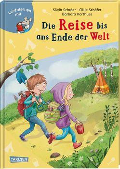 LESEMAUS: Die Reise bis ans Ende der Welt von Barbara,  Korthues, Schäfer,  Cillie, Schröer,  Silvia