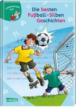 LESEMAUS zum Lesenlernen Sammelbände: Die besten Fußball-Silbengeschichten zum Lesenlernen von Birck,  Jan, Rudel,  Imke, Tust,  Dorothea, Wiese,  Petra
